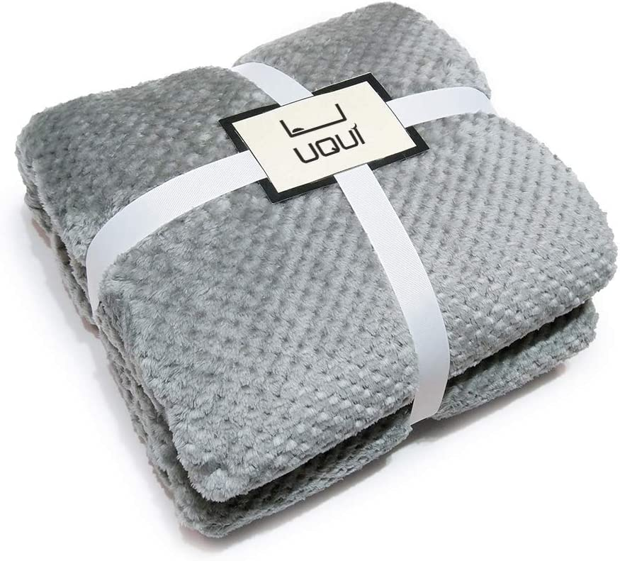 U UQUI Fuzzy Max 46% OFF Blanket Soft Anti-Static Lig Fleece Max 67% OFF
