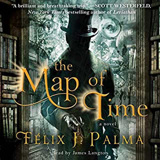 The Map of Time audiobook cover art