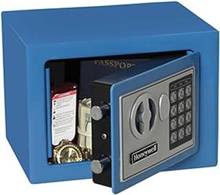 Honeywell Safes & Door Locks 5005B HONEYWELL-5005B Steel Security Safe with Digital Lock, 0.17-Cubic Feet, Blue, 0.17 Cubi...
