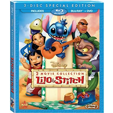 Lilo & Stitch/Lilo & Stitch: Stitch Has A Glitch Two-Movie Collection (Three Disc Blu-ray/DVD Combo)