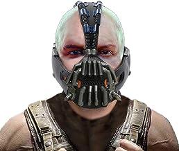 Bane Mask The Dark Knight Rises Cosplay Costume Accessories Gun Metal Color Version for Men