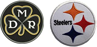 Magicallife Dan Rooney Memorial Football Jersey Patch Pittsburgh Steelers Patch