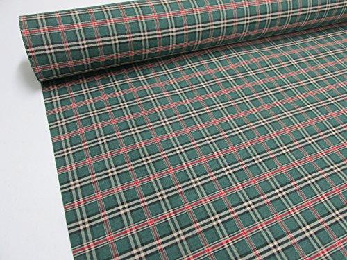 Confección Saymi Metraje 2,45 MTS Tejido Cuadros Ref. Escocés Mini Color Verde, con Ancho 2,80 MTS.