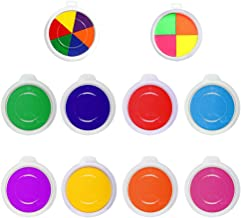 no t/óxico Huella Dactilar sello Pads para scrapbooking diy artesan/ía rosenice Tamp/ón con 6/colores