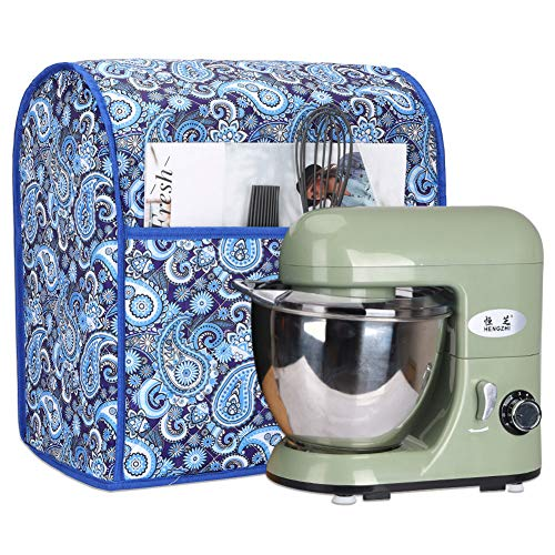 5-8 Quart Stand Mixer Cover, Dust Cover with Pockets Compatible with KitchenAid Mixers, Sunbeam Mixers, Cuisinart Mixers, Kitchen & Dining Small Appliance Dust Cover