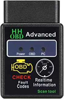 KKmoon Car Best OBD OBD? Scanner Tool Detector with BT Connection for iOS Android Windows Service