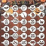 30 Pcs 2021 Halloween Cookie Stencils...