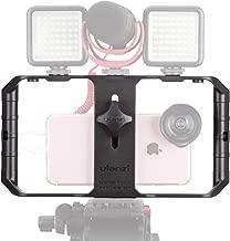 ULANZI U Rig Pro Smartphone Video Rig, Filmmaking Case, Phone Video Stabilizer Grip Tripod Mount for Videomaker Film-Maker Video-grapher for iPhone Xs XS Max XR iPhone X 8 Plus Samsung