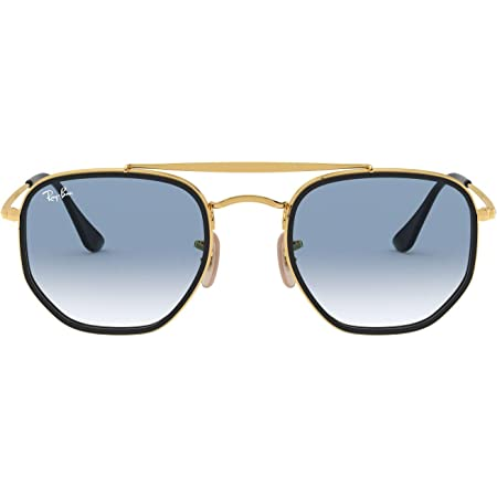 Ray-Ban Unisex Adults' 0RB3648M Sunglasses, Brown (Gold), 52.0
