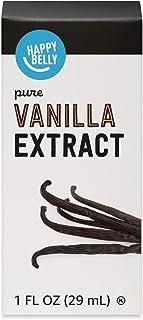 Amazon Brand - Happy Belly Pure Vanilla Extract, 1 fl oz