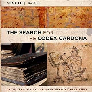 The Search for the Codex Cardona audiobook cover art