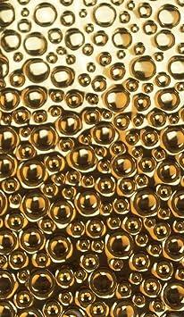 Farbe gold gl/änzend Wachsverzierfolien Bubble Anzahl 1 St/ück