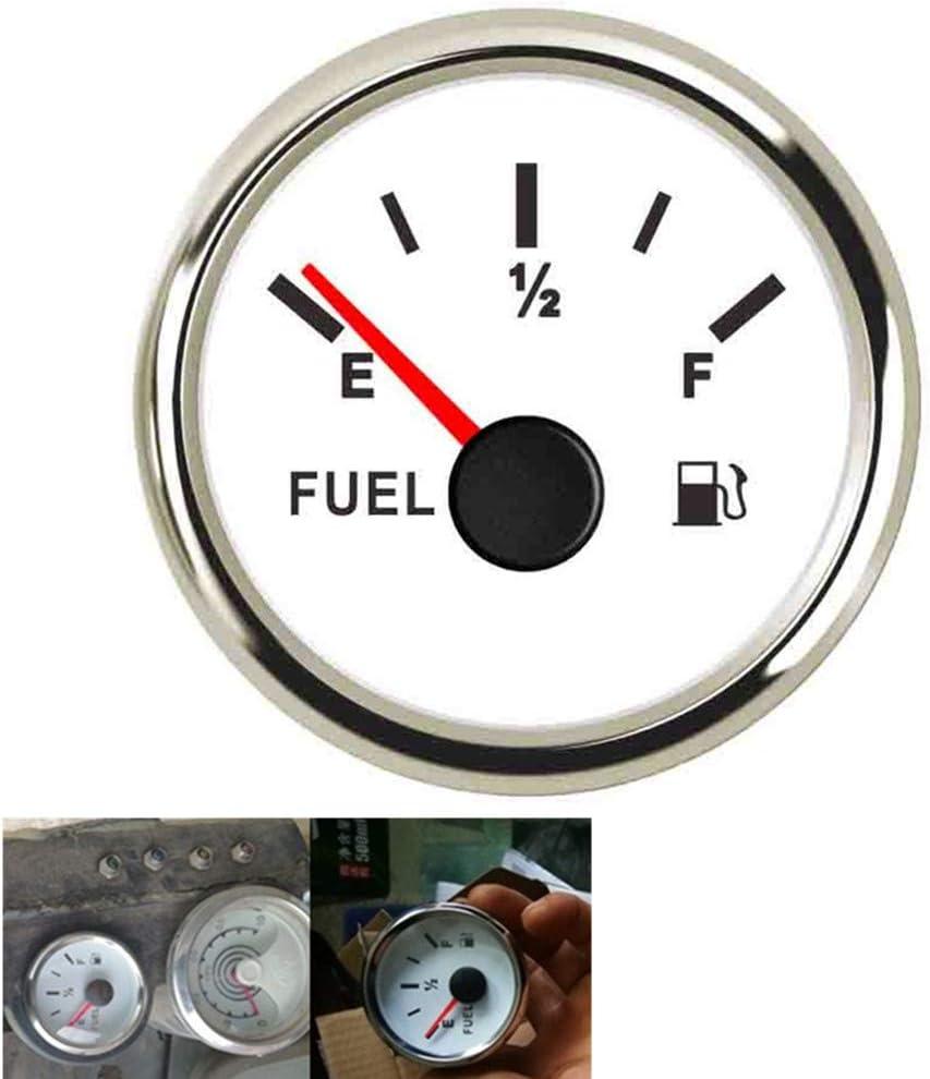 52MM Fuel Lever Sale SALE% OFF National uniform free shipping Gauge 240-33ohm Motorcycle Gas Tank Digital