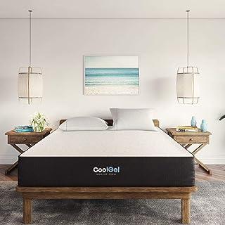 Classic Brands Cool Gel Ventilated Gel Memory Foam 10-Inch Mattress , Full, White