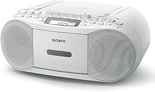 ソニー SONY CDラジカセ レコーダー CFD-S70 : FM/AM/ワイドFM対応 録音可能 ホワイト CFD-S70 W