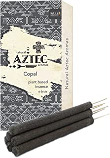 Soul Sticks Aztec   6pc Hand Rolled Artisan Resin Incense Sticks for Space Clearing and Removing Negative Energy Non-Toxic...