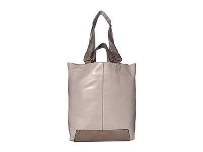 Vince Camuto Naila Tote (Silver Cloud) Handbags
