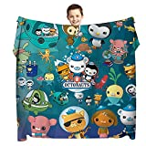 Cartoon Blanket 50'x40' Super Soft Flannel Throw Blanket Air Conditioner Blanket Cooling Summer Blanket Printed Cartoon Pattern Custom Cute Lightweight Sleep Comfort for Couch Kids Boys Adults