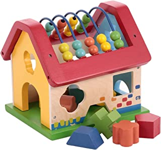 Canoe Wooden Abacus House Toy - CT181216RJ158