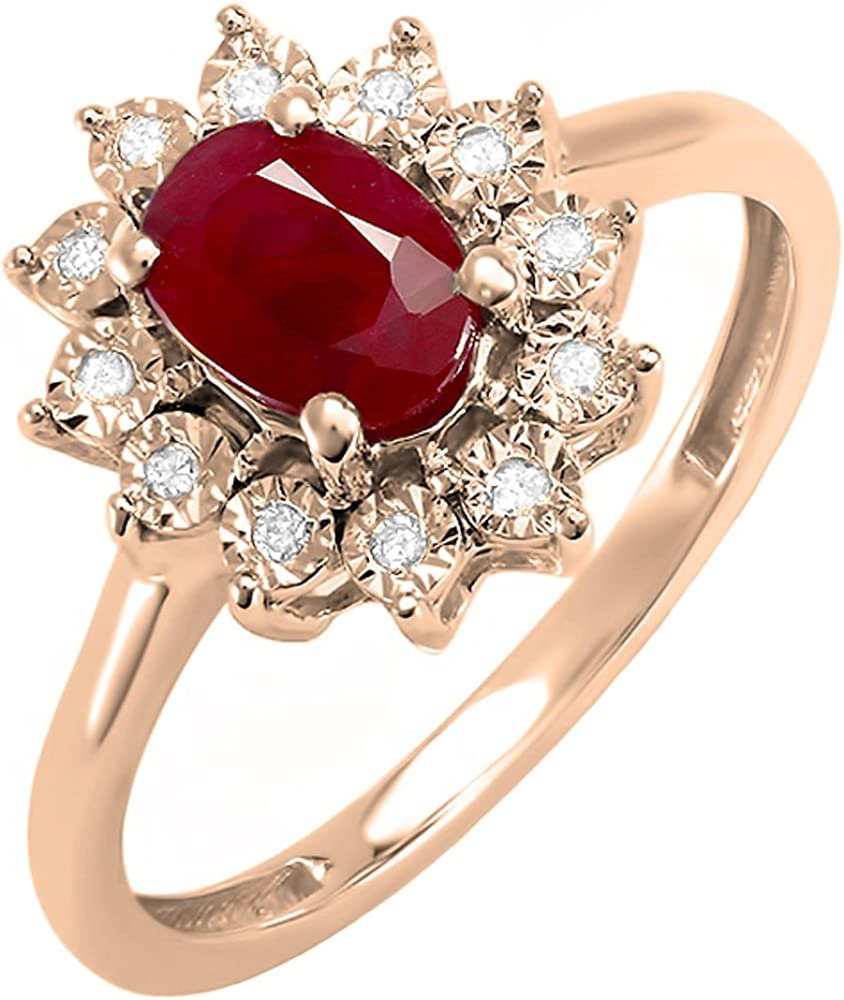 Dazzlingrock Collection Kate Middleton Diana San Jose Mall Max 77% OFF 10K Gold Inspired D