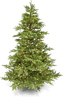 K&K Interiors 52994B 9 Foot Lt Instant Tree 1100L 76 Inch D 2618T, Green