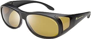 Eagle Eyes Polarized Fiton Sleek Fitover-style Sunglasses - UVA, UVB and Blue Light Blocking Protection