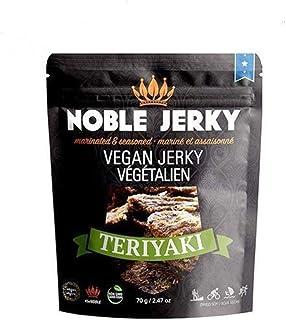 Noble Jerky - Teriyaki - Vegan Jerky - Plant Based - Non-GMO - 70 grams