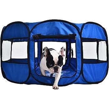 AmazonBasics Portable Soft Pet Dog Travel Playpen