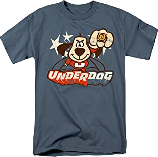 Popfunk Underdog T-Shirt and Stickers, Other Retro Styles Available