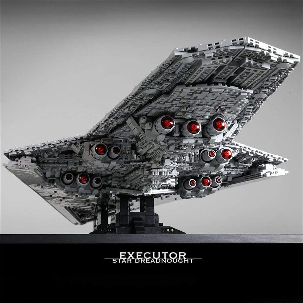 Amazon Com Lpvie Buildmoc Super Star Destroyer Blocks Wars Executor Class Star Dreadnought Ship 7284pcs Technic Star Wars 10221 10030 Toys Gift Bricks Sports Outdoors