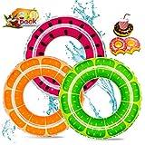 3+3PCS Inflatable Pool Floats 32.5