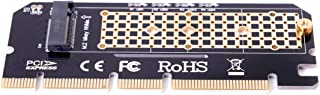 NGFF M-Key NVME AHCI SSD to Motherboard PCI-E 3.0 16x 4X Adapter for XP941 SM951 PM951 970 960 EVO SSD