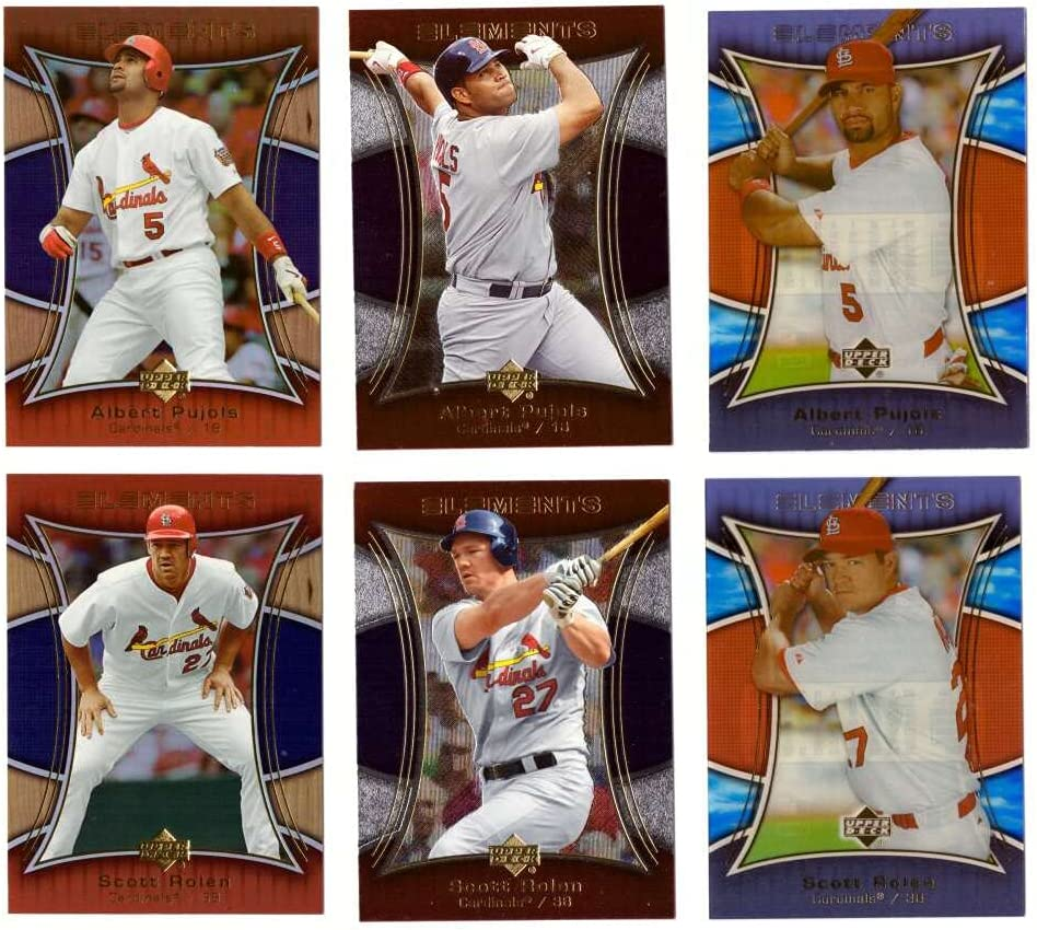 2007 Opening large release sale Upper Deck Elements Year-end gift - ST Pujols CARDINALS Albert LOUIS Ro