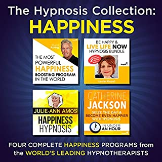The Hypnosis Collection - Happiness audiobook cover art