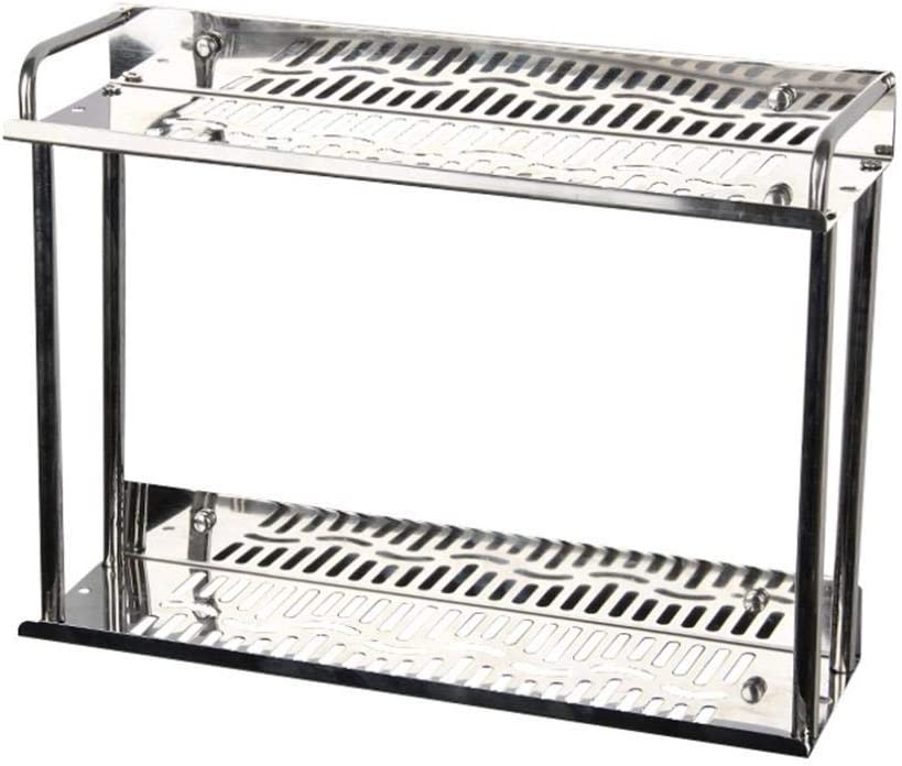 Genric Denver Mall Hot Quantity limited Stainless Steel Double Layers Spice Home Metal Rack K