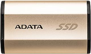 ADATA SE730シリーズ 外付けSSD 250GB USB3.1 Gen2 (Type-C) ゴールド 3年保証 ASE730-250GU31-CGD