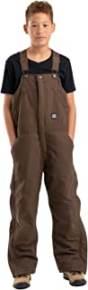 Berne Youth Washed Insulated Bib Overall