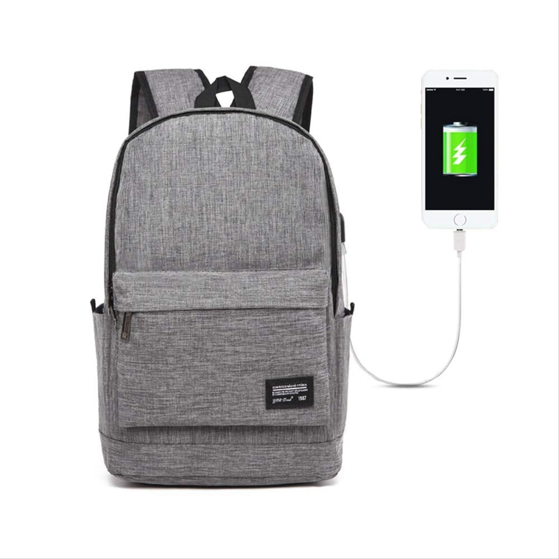 KHUGLD Herrenrucksack SchulrucksackReiseExterne USB Gebühr Student Daypack Reisetasche Für Mnner
