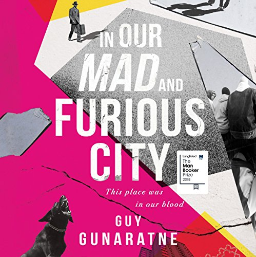 In Our Mad and Furious City audiobook cover art