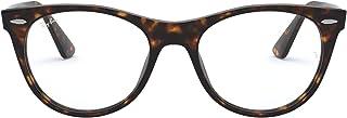 Ray-Ban RX2185VF Asian Fit Square Eyeglass Frames Non Polarized Prescription Eyewear