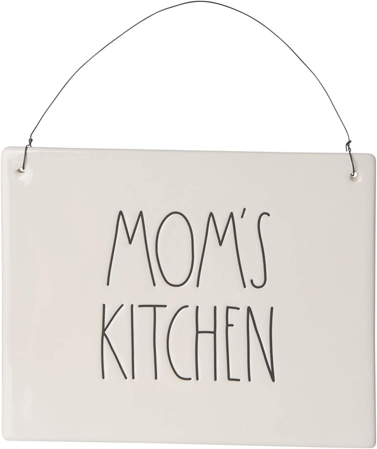 Rae SEAL limited product Cheap mail order sales Dunn Mom's Kitchen Ceramic Wall Si Hanging Decorative Plaque