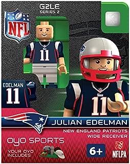 OYO NFL New England Patriots Julian Edelman Gen 2 Mini Figure, Small