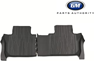 GM 23356364 All-Weather Floor Liners, Contoured-Second Row, Jet Black
