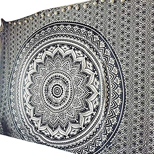 litymitzromq Carpet, Mandala Flower Print Wall Hanging Tapestry Carpet Mat Home Living Room Decor for Home Decoration, Nursery, Bedroom and Living Room Decor(9573cm 8)
