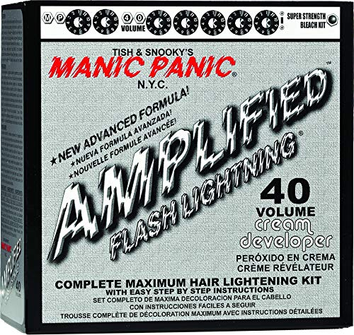 Manic Panic Flash Lightning Hair Bleach Kit 40 Vol