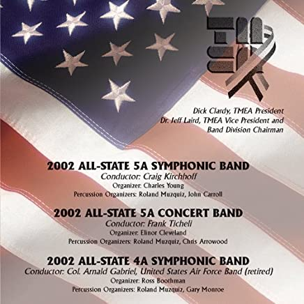 2002 TMEA All-State Concert & Symphonic Bands