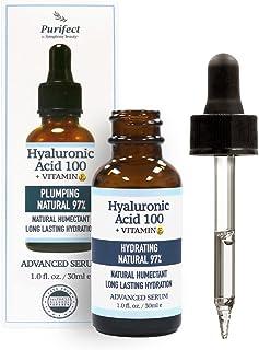 Purifect Vitamin C Brightening Facial Serum - 30ml (Plumping Natural Hyaluronic Acid Advanced)
