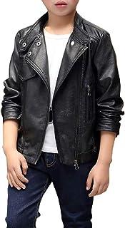 e7f63ee09fe2 Amazon.es: chaqueta cuero - Niño: Ropa