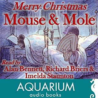 Merry Christmas Mouse and Mole audiobook cover art