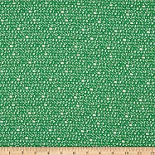 Cloud 9 Cloud9 Quilt Fabrics Organic Ed Emberley Favorites Scribbles , Green/White